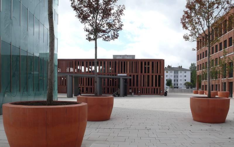 Dernsches Gelände Wiesbaden Parkhaus